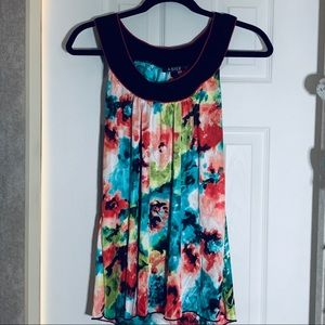 A. Byer Sleeveless Blouse Made In the USA